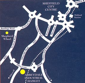 abbeydale industrial hamlet map