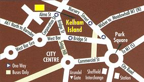 Map Of Kelham Island